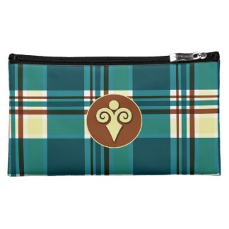 Plaid Abstract 8 Cosmetic Bag