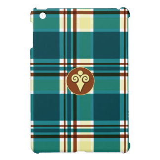 Plaid Abstract 8 iPad Mini Covers