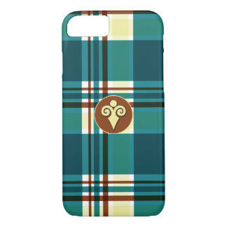 Plaid Abstract 8 iPhone 7 Case
