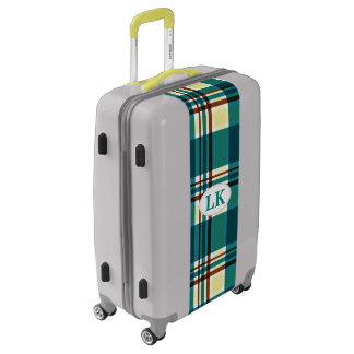 Plaid Abstract 8 Luggage