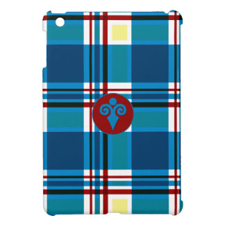 Plaid Abstract 9 iPad Mini Cases