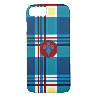 Plaid Abstract 9 iPhone 7 Case