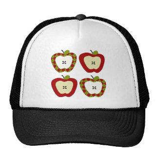 Plaid Apple Quartet Hats