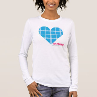 Plaid Aqua 2 Long Sleeve T-Shirt