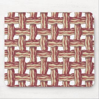 Plaid Bacon Design Mouse Pad