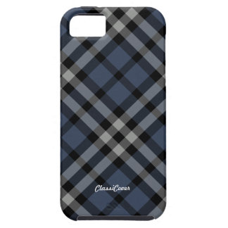 Plaid Blue Stripes Case Mate Case For The iPhone 5