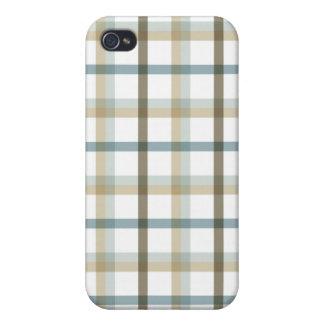 Plaid Case For iPhone 4