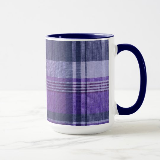 Plaid Ceramic Mug