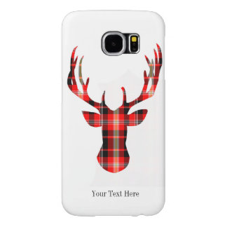 Plaid Deer Phone case. Samsung Galaxy S6 Cases