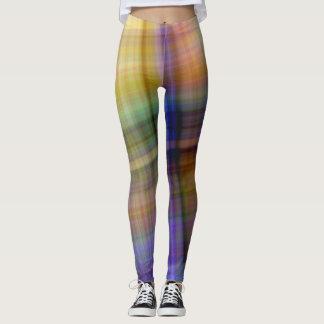 Plaid Designer Leggings