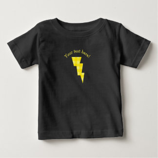Plaid Electric Lightning Bolt Icon Baby T-Shirt