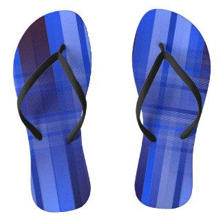 Plaid Flip Flops