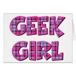 Plaid Geek Girl Design