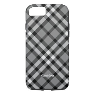 Plaid Gray Pattern iPhone 8/7 Case
