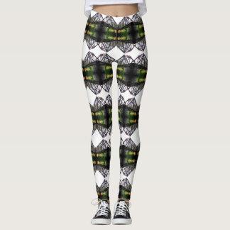Plaid Green Leggings