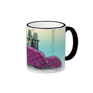 Plaid Is In! Ringer Coffee Mug