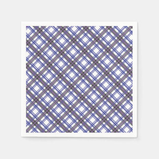 Plaid Jumper Party Napkins Paper Napkin