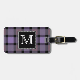Plaid Luggage Tag