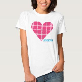 Plaid Magenta 2 Tee Shirts