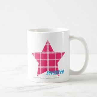 Plaid Magenta 3 Coffee Mug