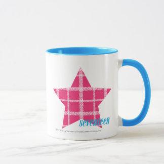 Plaid Magenta 3 Mug