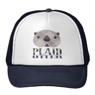 Plaid Otter Trucker Hat