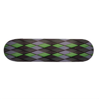 Plaid out 21.6 cm skateboard deck