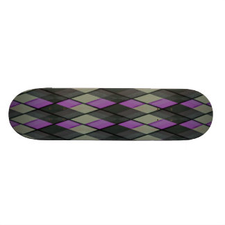 Plaid out skateboard deck
