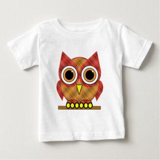 plaid owl t-shirts