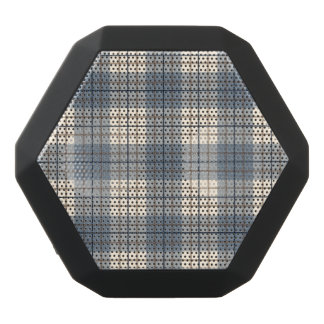 Plaid Pattern Blues Brown Cream