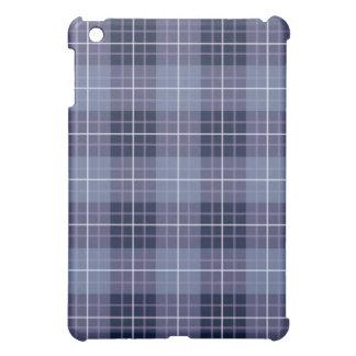 Plaid Pattern Blues & Purples iPad Mini Cases