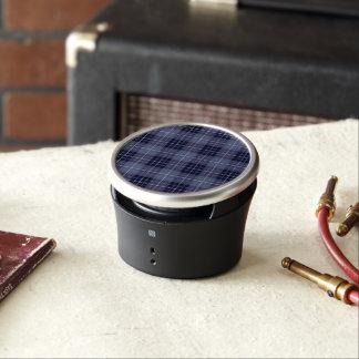 Plaid Pattern Blues & Purples Speaker