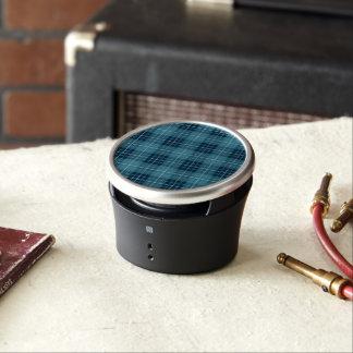 Plaid Pattern Blues Speaker