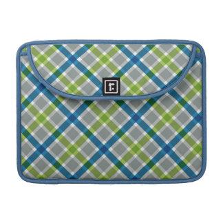 Plaid Pattern custom MacBook sleeve MacBook Pro Sleeves