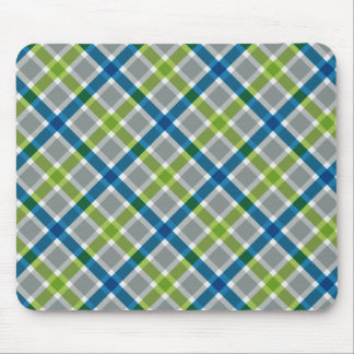 Plaid Pattern custom mousepad