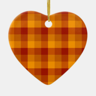 Plaid Pattern custom ornament