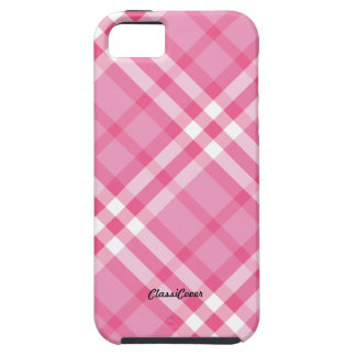 Plaid Pink Peppermint Case Mate