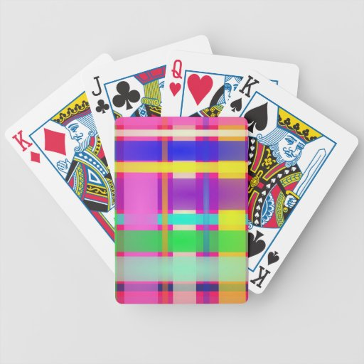 Plaid Deck Of Cards