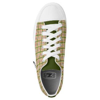 Plaid Printed Shoes