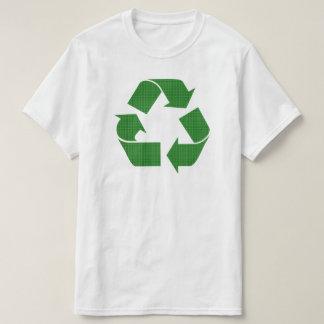 plaid recycle T-Shirt