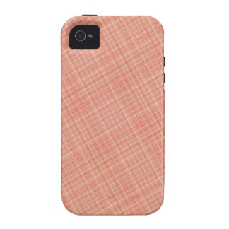 Plaid Red Yellow iPhone 4/4S Cases