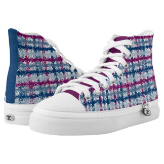 Plaid Sneakers