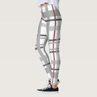 Plaid Stripe pattern Leggings