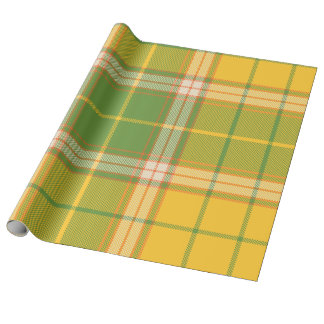 Plaid , Tartan . Check Wrapping Paper