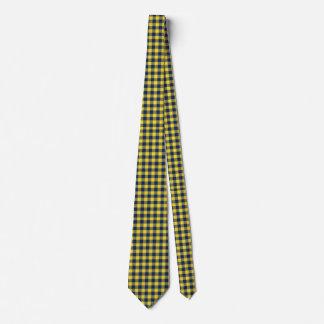 plaid tartan customize checkered neck tie