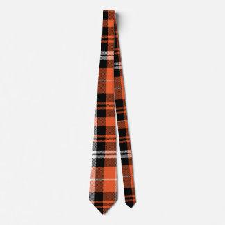 plaid tartan customize checkered tie