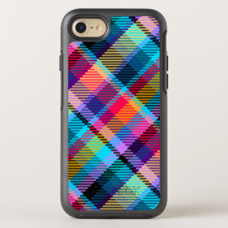 plaid tartan customize otter phone case