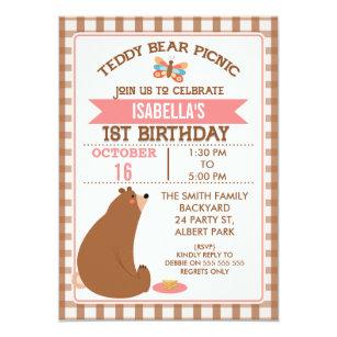 picnic birthday invitations zazzle co uk