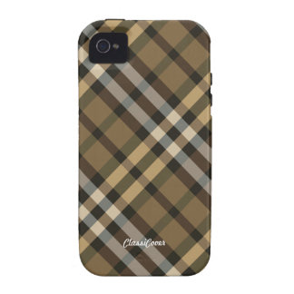 Plaid Yellow Brown Case Mate