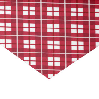 Plaids Of Christmas Tissue Paper